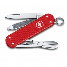 Складной нож Victorinox Classic Alox Limited Edition 2018 Berry Red 0.6221.L18