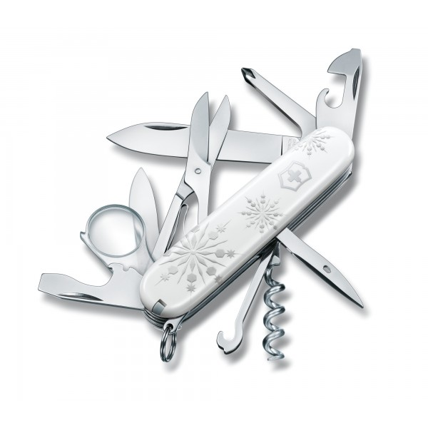 Складной нож Victorinox Explorer White Christmas 1.6703.77